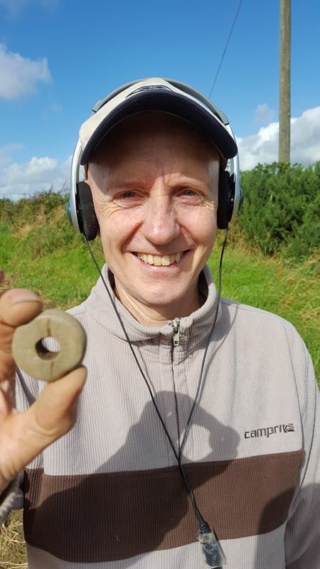 Stone Spindle Whorl