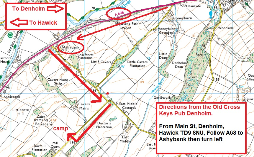 camp directions